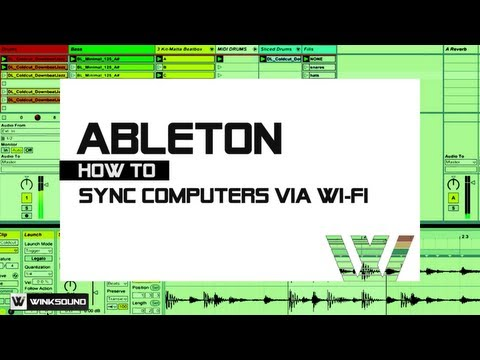 Ableton Live: How To Sync Computers Via Wi-Fi | WinkSound