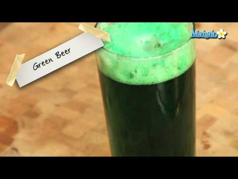 How to Make St. Patrick's Day Green Beer