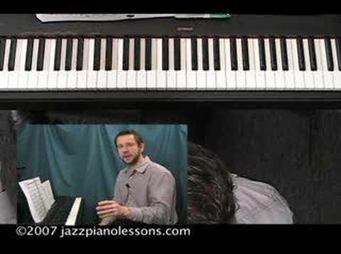 Jazz Piano Lesson E-lesson #9 [Tensions]