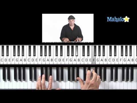 Learn Piano HD: How to Play I, IV, V Progression (Right Hand) in F on Piano