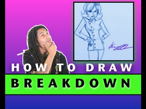 How to Draw Dr Girlfriend From Venture Bros