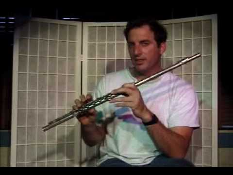 "Flute Lesson - How to play the ""A"" note with fingering"