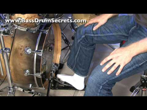 Jared Falk Heel-Toe Bass Drum Technique | Slow Motion Included | Video #1 of 2 |