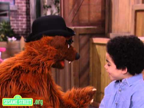 Sesame Street: Papa Bear and Antonio Talk About Exercise