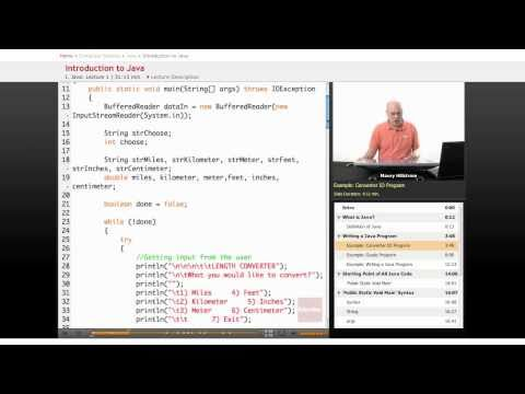 Java Lesson: Introduction to Writing Programs