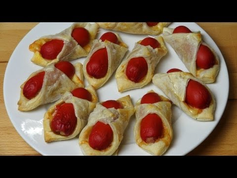 Puffy Dogs - RECIPE