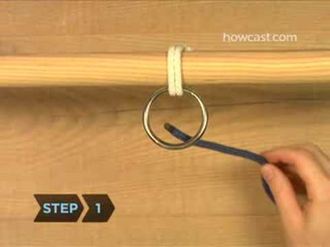 How To Tie a Half Hitch Knot