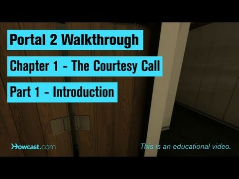 Portal 2 Walkthrough / Chapter 1 - Part 1: Introduction