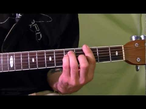 BARRE CHORDS ( Guitar Lesson )
