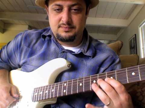 Blues Guitar Lesson - Soloing and Scales - Mixolydian blues
