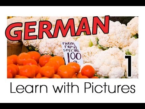 Learn German - German Vegetable Vocabulary