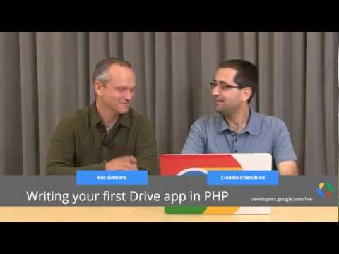 Google Drive SDK: Writing your first Drive app in PHP