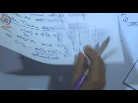 Mod-01 Lec-47 Lecture-47-Dynamic Programming for Discrete Time Systems