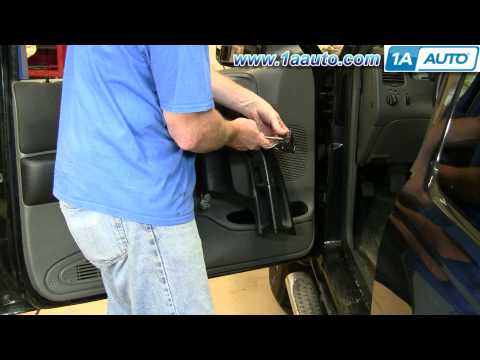 How To Install Replace Side Rear View Mirror Ford Ranger 93-10 1AAuto.com