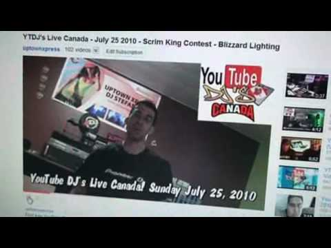 YTDJ's Live Canada - July 25 2010 - Scrim King Contest - Blizzard Lighting