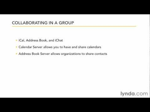 Understanding the Lion Server group collaboration services | lynda.com overview