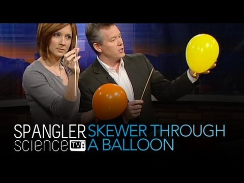 Skewer Through A Balloon - Cool Science Experiment