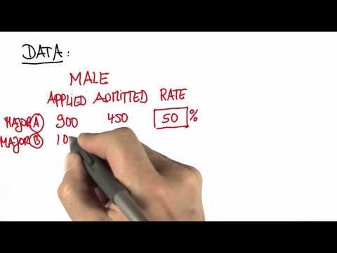 Admissions 2 - Intro to Statistics - Case study - Udacity