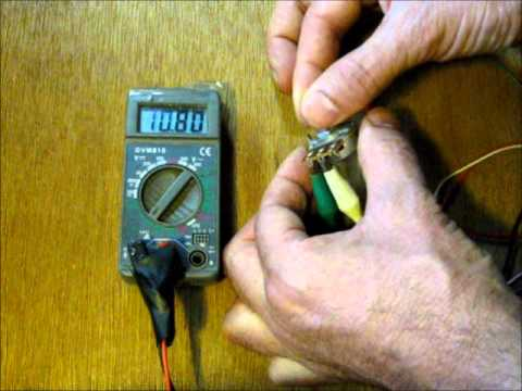 How To Measure Resistance With A Digital Ohm Meter