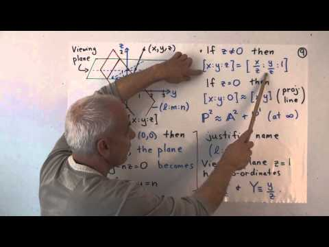 UnivHypGeom7b: The circle and projective homogeneous coordinates (cont.)