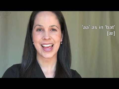 English: How to Pronounce AA [æ] vowel: American Accent