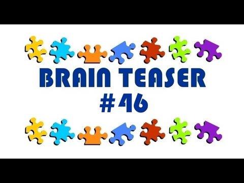Video Brain Teaser #46