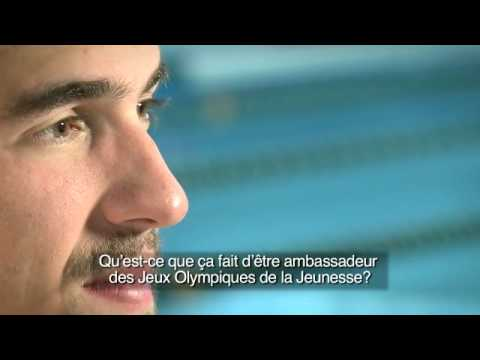Michael Phelps on 99 days to go to Singapore 2010 Youth Olympic Games