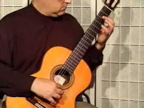 Classical Guitar Song Demonstration - The Entertainer by Scott Joplin on Classical Guitar
