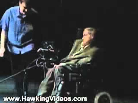 Standing Ovation Stephen Hawking's Lecture