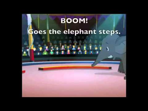 Elephant Steps Lyrics Version (Kids song by Patty Shukla)