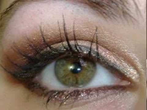 Barry M make up tutorials~Neutrals with a twist arabic smokey