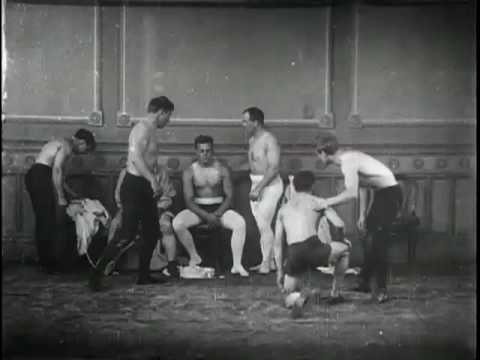 Wrestling at the New York Athletic Club