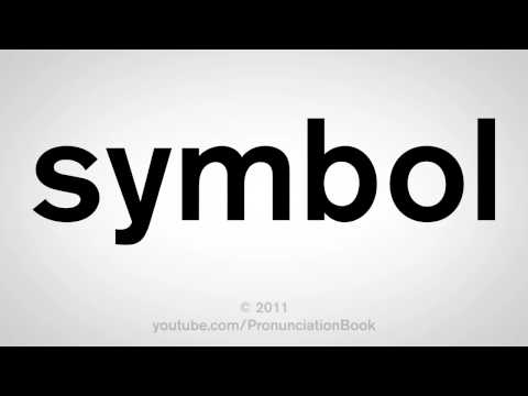 How To Pronounce Symbol