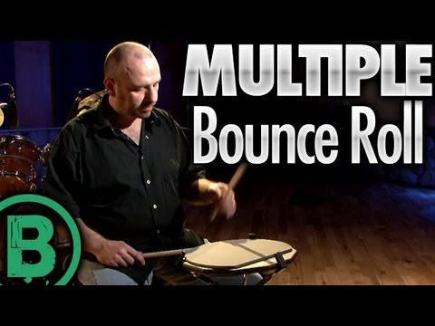 Multiple Bounce Roll - Drum Rudiment Lessons