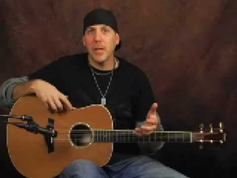 Learn guitar Taylor GS5 acoustic electric guitar demo part1
