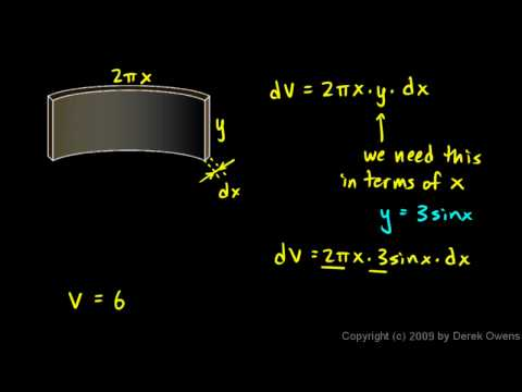 Calculus 7.4o - Cylindrical Shells, Part 4 - An example