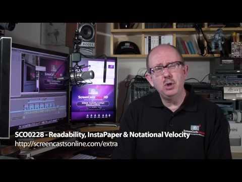 SCO0228 - Readability, InstaPaper & Notational Velocity Trailer