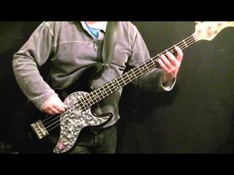 How To Play Bass Guitar To All My Loving - Beatles - Paul McCartney