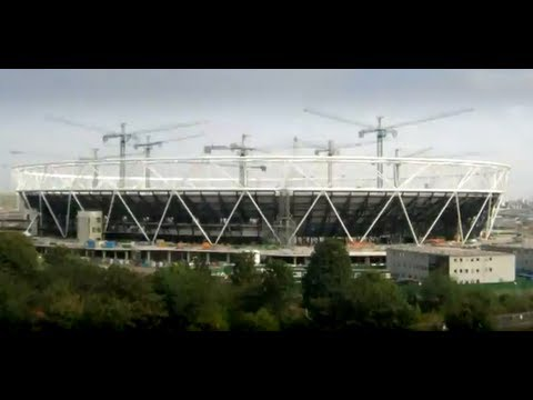 London 2012 Olympic Stadium time-lapse video
