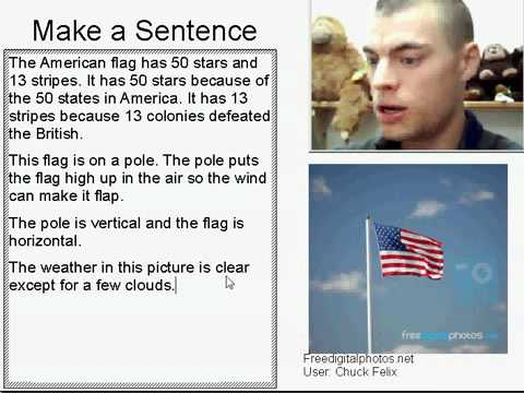 Learn English Make a Sentence and Pronunciation Lesson 12: American Flag