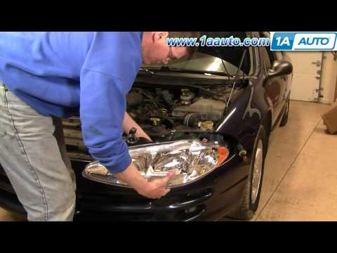 How To Install Replace Headlight and Change Bulb Dodge Intrepid 98-04 1AAuto.com