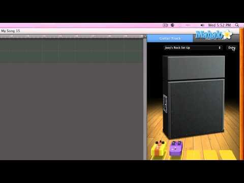 Stomp Box Overview - GarageBand Tutorial