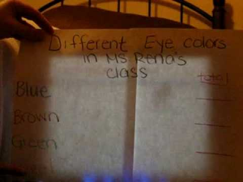 Different Eye Color In my class