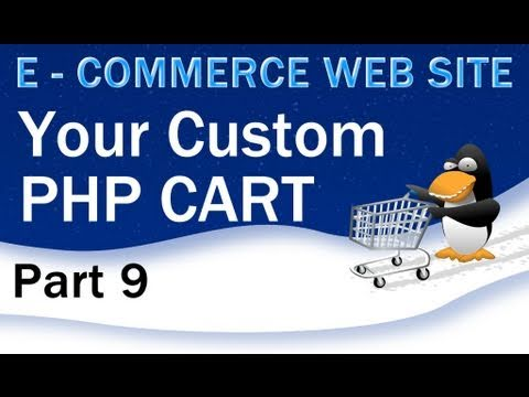 9. E - Commerce Website Tutorial - Shopping Cart PHP Multidimensional Array