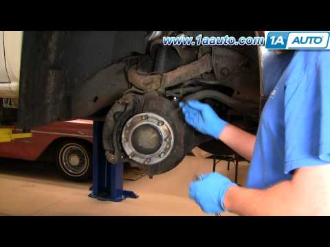 How To Install Replace Front Brake ABS Harness Silverado Sierra Suburban 1AAuto.com