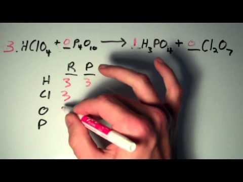 Balancing Chemical Equations 3