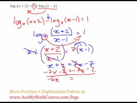 Logarithms - Log Equation #7 (Example + Explanation)