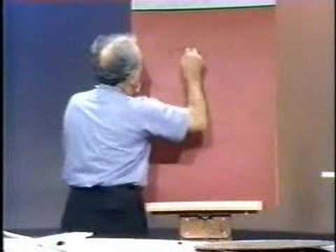 Julius Sumner Miller - Physics - Pendulums pt. 2