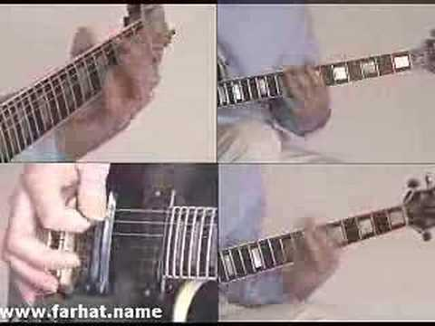 Master of puppets Metallica - guitar video lesson www.Farhatguitar.com