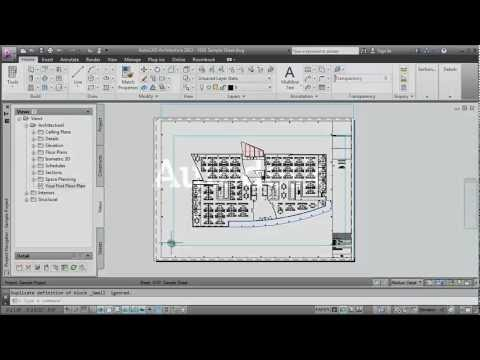 Managing Your Drawings: AutoCAD Architecture 2013